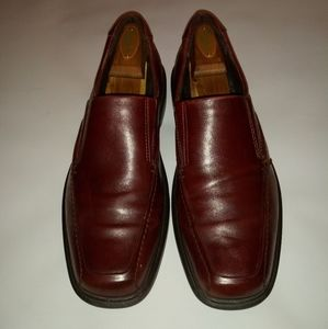 ECCO Burgundy Leather  Loafer